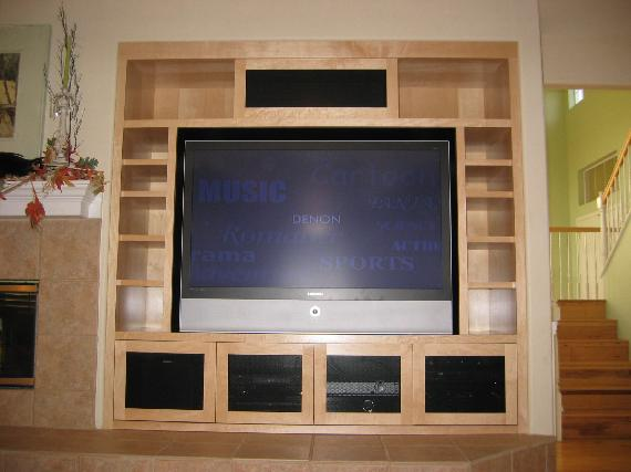 home theater custom cabinet the hippest